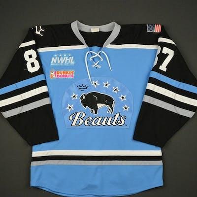 Beikirch, Morgan Blue Regular Season Buffalo Beauts 2016-17 #87 Size: Medium