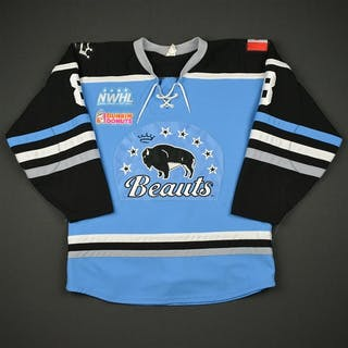 Lavoie, Kristina Blue Regular Season Buffalo Beauts 2016-17 #8 Size: Medium