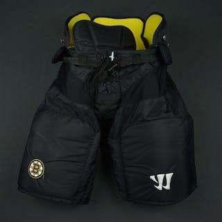 Krug, Torey Black Warrior Pants Boston Bruins 2016-17 #47 Size: Small