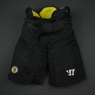 Vatrano, Frank Black Warrior Pants Boston Bruins 2016-17 #72 Size: Medium