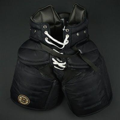 Rask, Tuukka Black Vaughn Pants Boston Bruins 2016-17 #40 Size: XL