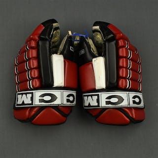 Albelin, Tommy CCM Gloves New Jersey Devils 2001-04 #6