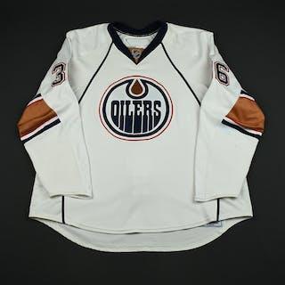 Roy, Mathieu White Set 1 (RBK 1.0) Edmonton Oilers 2007-08 #36 Size: 58+