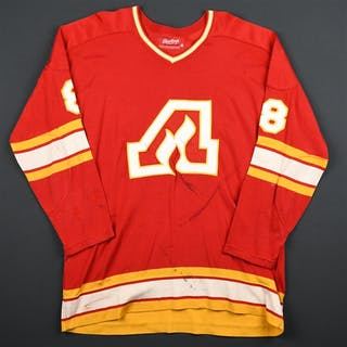 Harvey, Buster * Red Atlanta Flames 1974-75 #8 Size:48