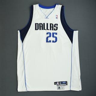 Dampier, Erick White GI Dallas Mavericks 2005-06 #25 Size: 54+4