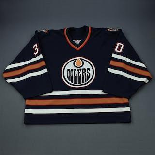 Markkanen, Jussi Blue Set 3 (Playoffs) GI Edmonton Oilers 2001-02 #30 Size: 58G