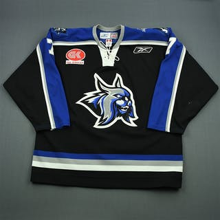 Goeckner-Zoeller, Grant Black Set 1 Augusta Lynx 2007-08 #7 Size: 56