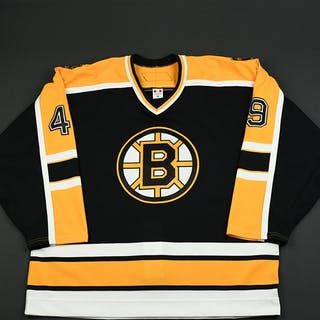 Lashoff, Matt Black Set 2 Boston Bruins 2006-07 #49 Size: 56