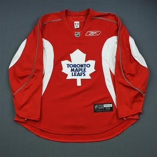 Reebok Red Practice Jersey Toronto Maple Leafs 2006-07 #N/A Size:56