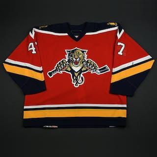 Lojek, Martin Third Set 1 Florida Panthers 2006-07 #47 Size: 56