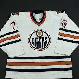 Pouliot, Marc-Antoine White Set 3 Edmonton Oilers 2006-07 #78 Size: 56