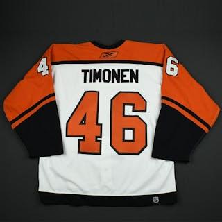 Timonen, Jussi White Set 2 GI Philadelphia Flyers 2006-07 #46 Size: 54