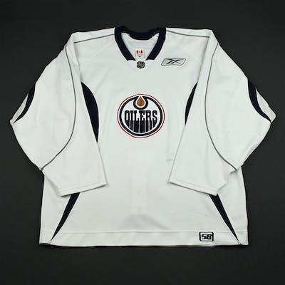 Reebok White Practice Jersey Edmonton Oilers 2006-07 #N/A Size:58