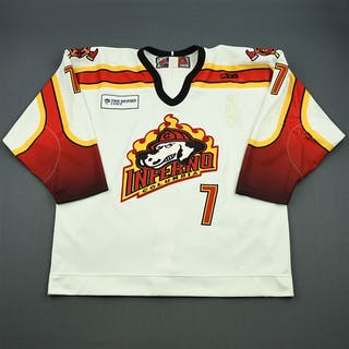 Jarmuth, Mike White Set 1 Columbia Inferno 2006-07 #7 Size:56
