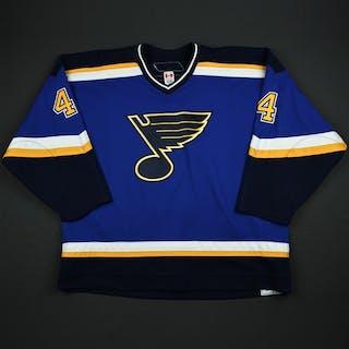 Brewer, Eric Blue Set 1 St. Louis Blues 2006-07 #4 Size: 58