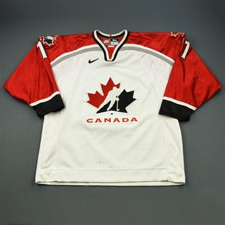 Heatley, Dany White, World Junior Championships Canada 2000 #11 Size: 54
