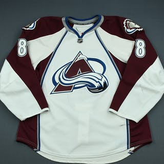 Wolski, Wojtek White Set 2 Colorado Avalanche 2009-10 #8 Size: 56