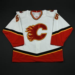 Pardy, Adam White Set 1 GI Calgary Flames 2006-07 #55 Size: 56