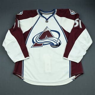 Fritsche, Tom White Set 1 - Game-Issued (GI) Colorado Avalanche 2009-10