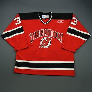 Wessbecker, John Red Set 1 Trenton Devils 2009-10 #33 Size: 56