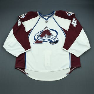 Sauer, Billy White Set 1 - Game-Issued (GI) Colorado Avalanche 2009-10