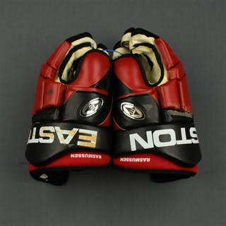 Rasmussen, Erik Easton Gloves New Jersey Devils 2003-04 #10