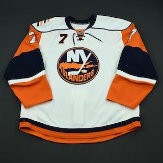 Hunter, Trent White Set 3 New York Islanders 2008-09 #7 Size: 56