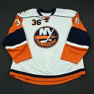Iggulden, Mike White Set 3 - Game-Issued (GI) New York Islanders 2008-09