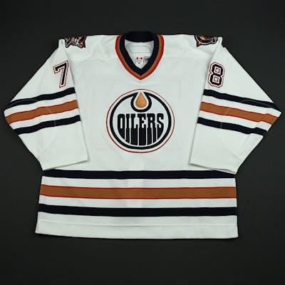 Pouliot, Marc-Antoine White Set 2 Edmonton Oilers 2006-07 #78 Size: 56