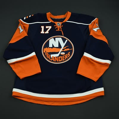 Pock, Thomas Navy Set 2 New York Islanders 2008-09 #17 Size: 56