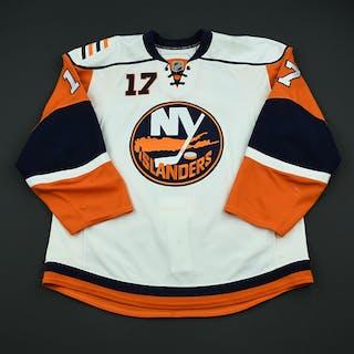 Pock, Thomas White Set 3 New York Islanders 2008-09 #17 Size: 56