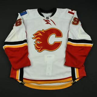 Watt, J.D. White Set 1 - Game-Issued (GI) (RBK Version 2.0) Calgary