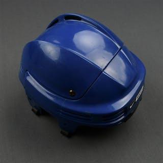 Ortmeyer, Jed Blue Nike/Bauer Helmet New York Rangers 2007-08 #41