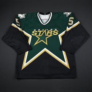 Sydor, Darryl * Green Preseason Dallas Stars 2002-03 #5 Size: 54