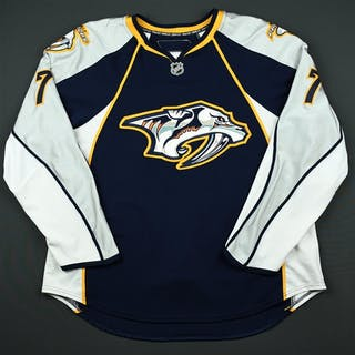 de Vries, Greg * Navy Set 1 (RBK Version 1.0) Nashville Predators
