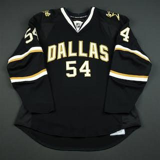 Lammers, John Black Set 1 GI (RBK 1.0) Dallas Stars 2007-08 #54 Size: 54
