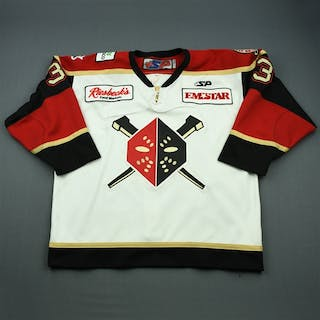 Kinley, Cleve White Set 1 Wheeling Nailers 2009-10 #3 Size: 56