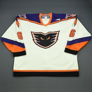 Chernov, Mikael * White Philadelphia Phantoms 1999-00 #6 Size: 56