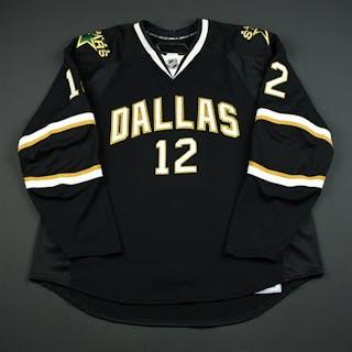 NNOB Black Set 1 GI (RBK 1.0) Dallas Stars 2007-08 #12 Size: 58