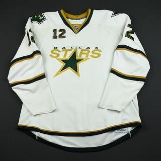 NNOB White Set 1 GI (RBK 1.0) Dallas Stars 2007-08 #12 Size: 58