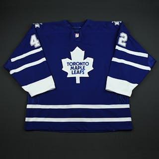 Wellwood, Kyle Blue Set 3 Toronto Maple Leafs 2006-07 #42 Size: 56
