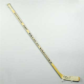 Palffy, Ziggy * Sher-Wood SOP 7000 Wooden Stick, Signed Los Angeles