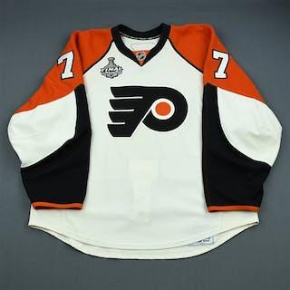 Parent, Ryan White - Stanley Cup Final Philadelphia Flyers 2009-10 #77 Size: 56