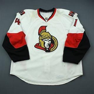 Cheechoo, Jonathan White Set 1 Ottawa Senators 2009-10 #41 Size: 58