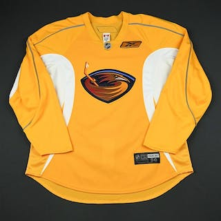 Reebok Yellow Practice Jersey Atlanta Thrashers 2009-10  N A Size  56 –  Current sales – Barnebys.com dc7bc17e5
