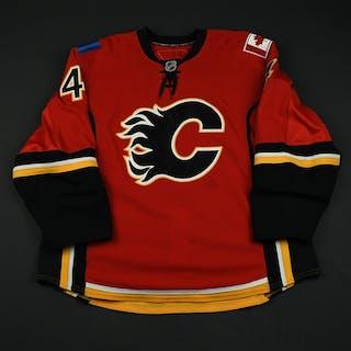 Vandermeer, Jim Red Set 1 (RBK Version 2.0) Calgary Flames 2008-09 #4 Size: 58+