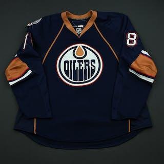 Pouliot, Marc Navy Set 1 Edmonton Oilers 2008-09 #78 Size: 56