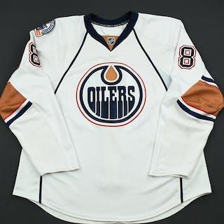 Pouliot, Marc White Set 1 Edmonton Oilers 2008-09 #78 Size: 56