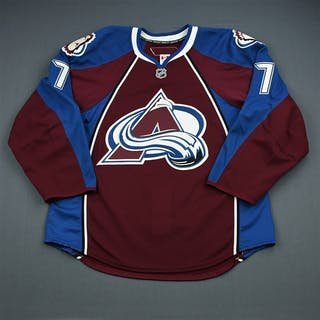 Hensick, T.J. Burgundy Set 2 - Game-Issued (GI) Colorado Avalanche