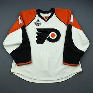 Betts, Blair White - Stanley Cup Final Philadelphia Flyers 2009-10 #11 Size: 56
